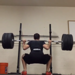Brian Pyfferoen Profile Image of Him Lifting Weights